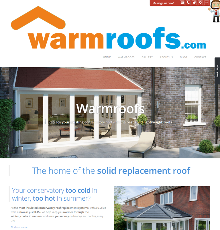 Warmroofs.com - the home of replacement conservatory roofs