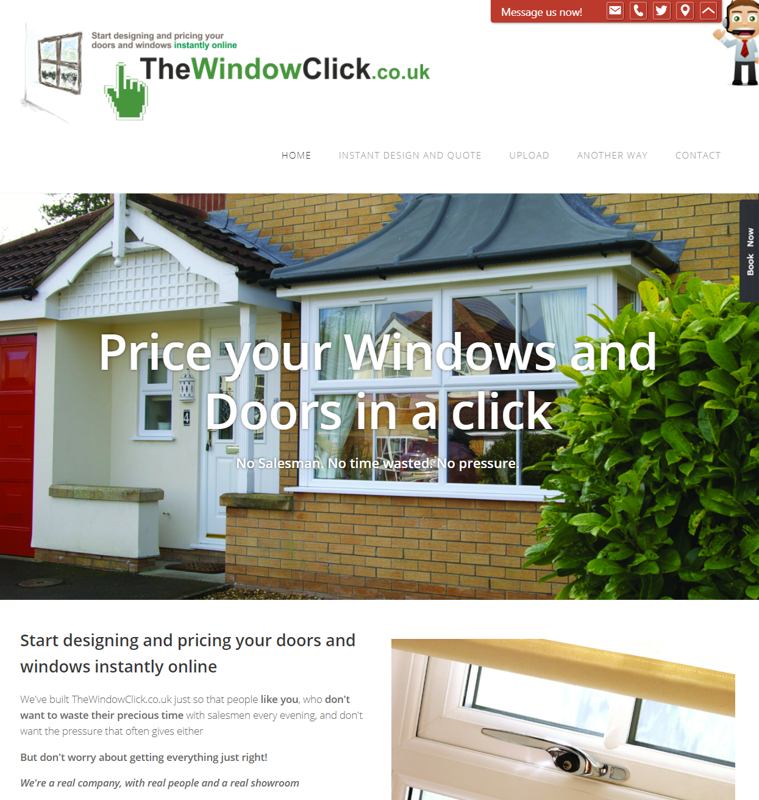 TheWindowClick.co.uk - online window and door design and quoting